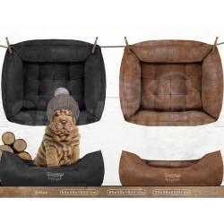 "Sofa ""Woodsdogs"" Noir ou Brun"