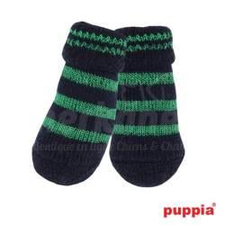 Chaussettes Noir et vert