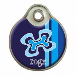 """Médaille Instant """"Hounddog"""" Noir et Blanc"""
