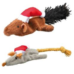 Lot peluches Santa