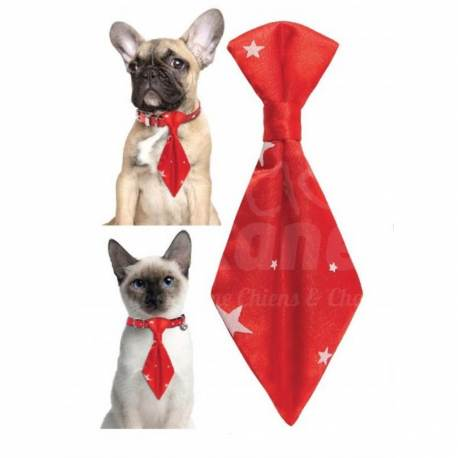 Cravate Santa Rouge