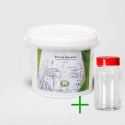 Pack diatomée 2 kg + Saupoudreur 330
