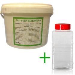 Pack diatomée 500 gr + Saupoudreur 1000
