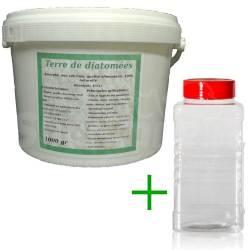 Pack diatomées 1 kg + Saupoudreur 1000