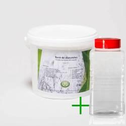 Pack diatomées 2 kg + Saupoudreur 1000