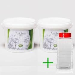 Pack diatomée 4 kg + Saupoudreur 1000