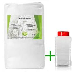 Pack diatomée 10 kg + Saupoudreur 1000