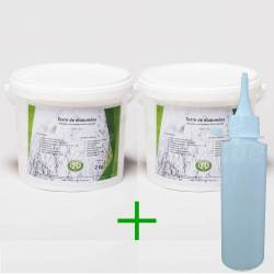 Pack diatomée 4 kg + applicateur