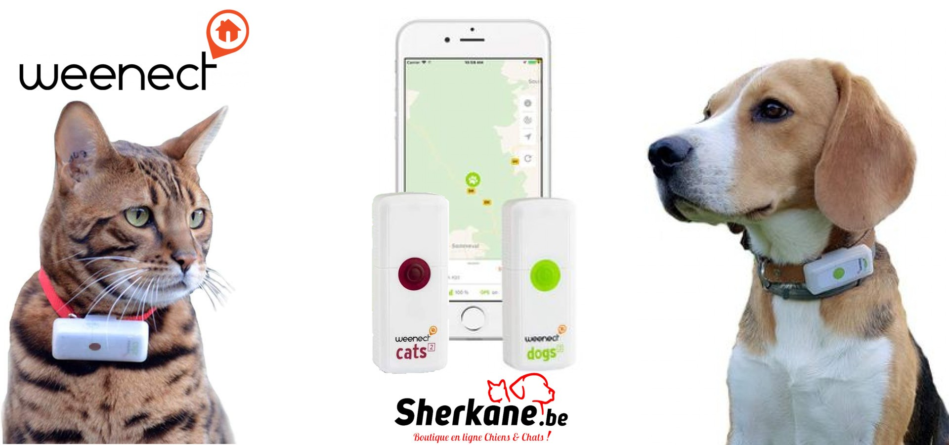 GPS Chiens & Chats