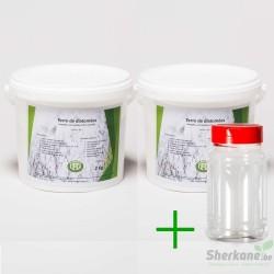 Pack diatomée 4 kg + Saupoudreur 330