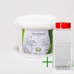 Pack diatomée 2 kg + Saupoudreur 1000