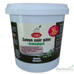 Savon noir mou olive