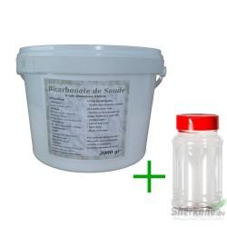 Bicarbonate de Soude Alimentaire - 2Kg