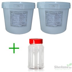 Pack Bicarbonate 10Kg + Saupoudreur 330