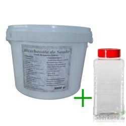 Pack Bicarbonate 3Kg + Saupoudreur 1000