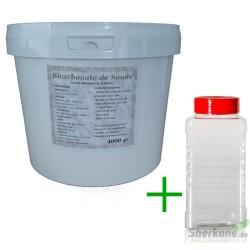 Pack Bicarbonate 4Kg + Saupoudreur 1000