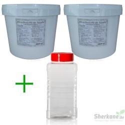 Pack Bicarbonate 8Kg + Saupoudreur 1000