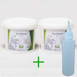 Pack diatomée 4 kg + applicateur