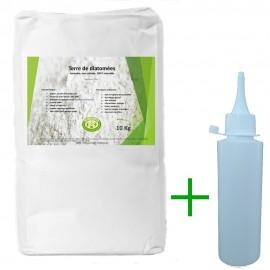 Pack diatomée 10 kg + applicateur